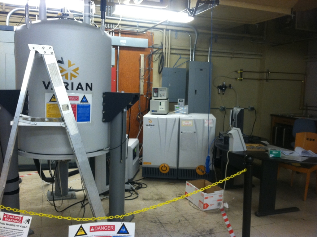 600 MHz VNMRS NMR Spectrometer at the UC Davis NMR Facility