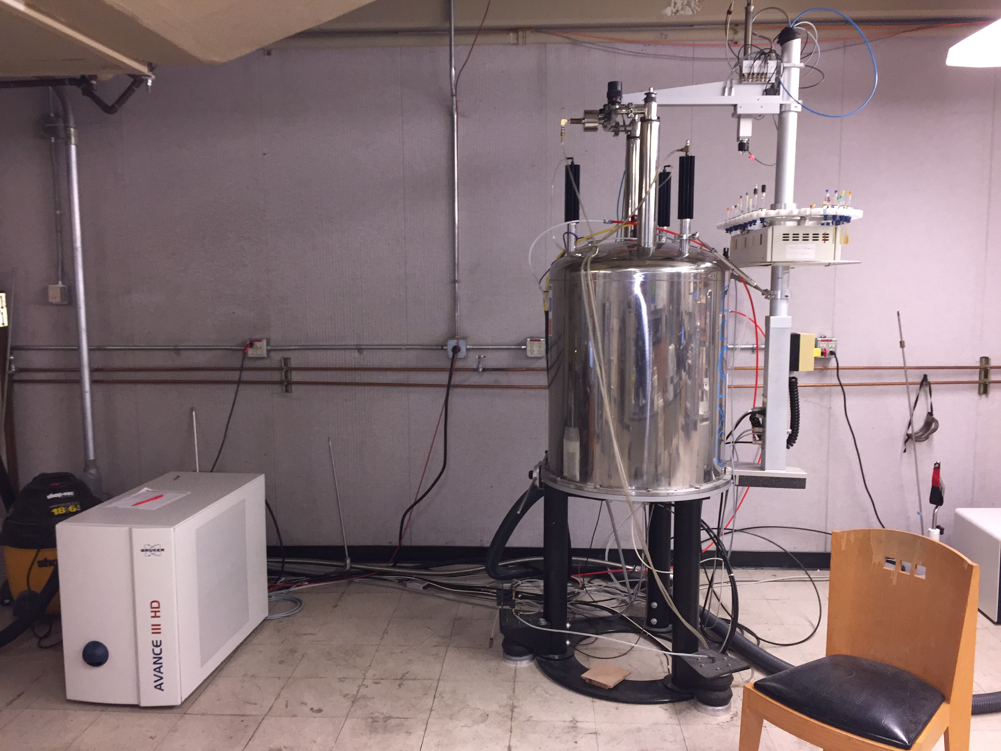 400 MHz Bruker AVIIIHD Nanobay NMR Spectrometer at the UC Davis NMR Facility